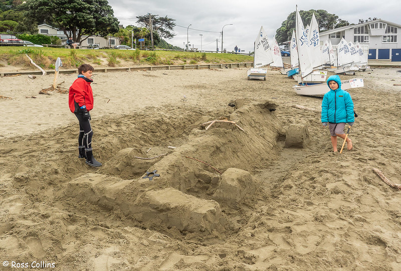 Formula One in sand