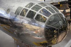 "December 1, 2012,  ""Reflections""  Air and Space Museum's Udvar-Hazy center captured by the nose of the B29 Enola Gay."
