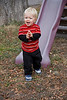"December 16, 2012 ""Nathaniel""  and his daddy came by for a visit yesterday while his mommy did some ""shopping"".  He love slides, swings and scarring his papa by climbing up to check out the tree house.  Christmas is going to be BIG this year.   We are having a great weekend, I even shot some butterflies on Saturday"