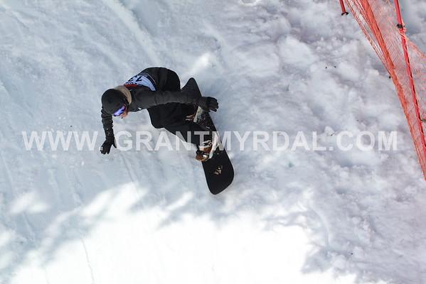 sat april 2 banked slalom first run