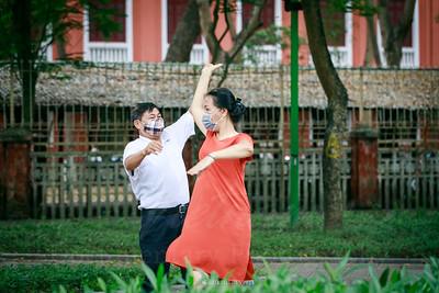 Khiêu vũ thời COVID-19
