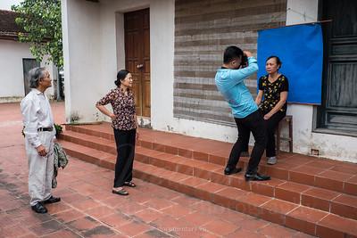 Chụp ảnh thờ, Thanh Oai - Hà Nội, 2017