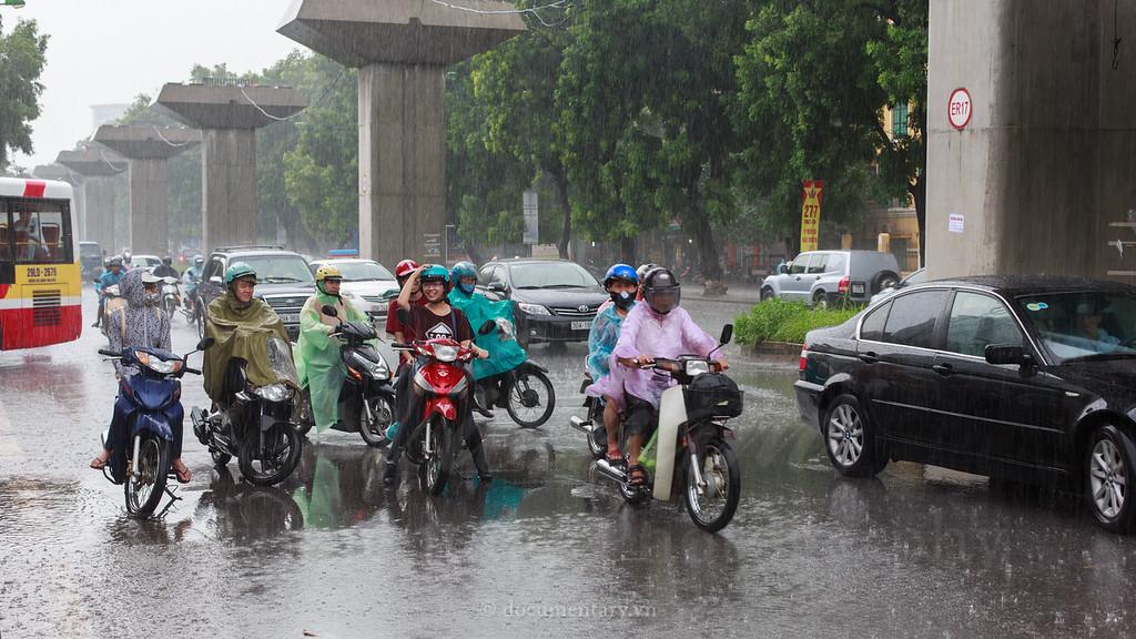 Trú mưa