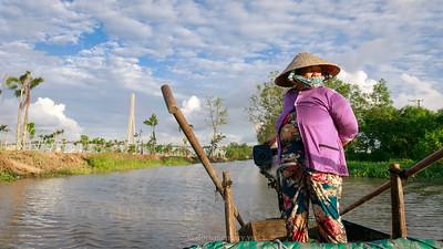 Sông Hậu, Cần Thơ, 2018