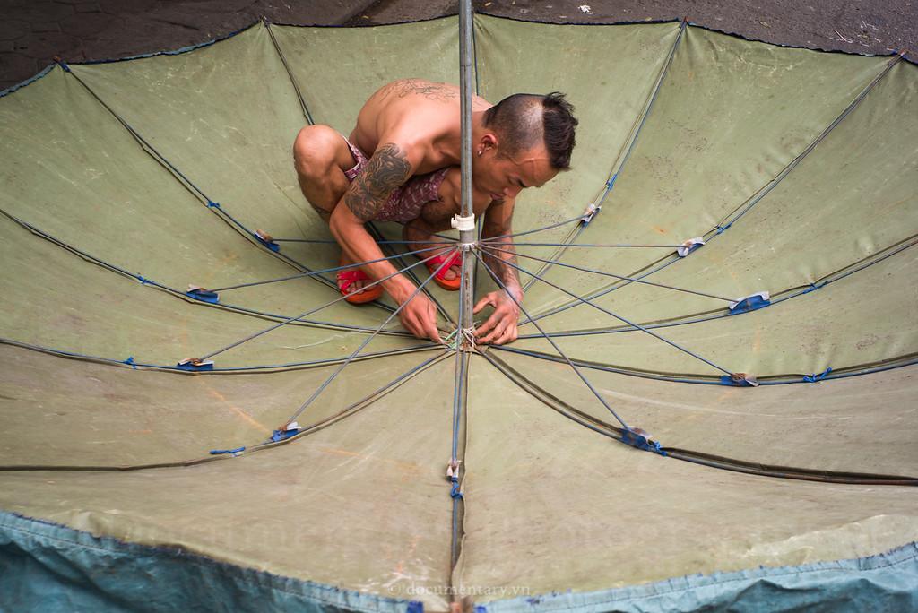 Umbrella repairing