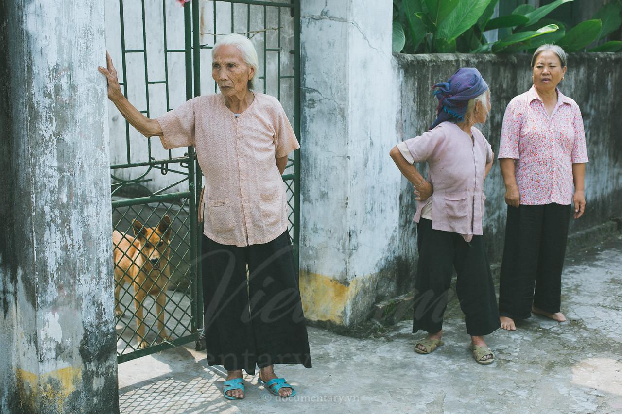 Three old women