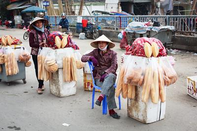 Bread sellers