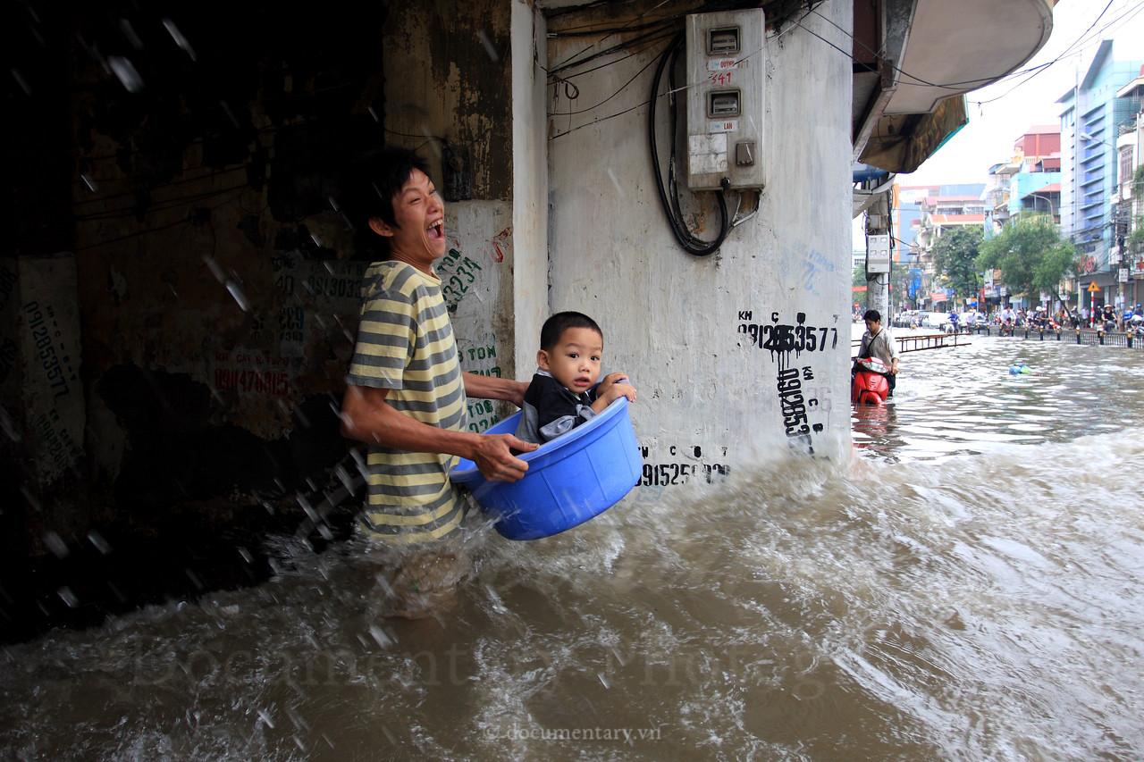 Flood in Ha Noi