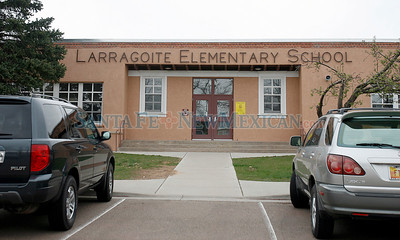 LARRAGOITE ELEMENTARY SCHOOL Schools in Santa Fe that may be part of the consolidation plan that the school board votes on in Santa Fe, N.M., on April 22, 2010. Natalie Guillen/The New Mexican