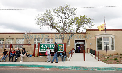KAUNE ELEMENTARY SCHOOL Schools in Santa Fe that may be part of the consolidation plan that the school board votes on in Santa Fe, N.M., on April 22, 2010. Natalie Guillen/The New Mexican