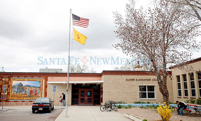 ALVORD ELEMENTARY SCHOOL Schools in Santa Fe that may be part of the consolidation plan that the school board votes on in Santa Fe, N.M., on April 22, 2010. Natalie Guillen/The New Mexican