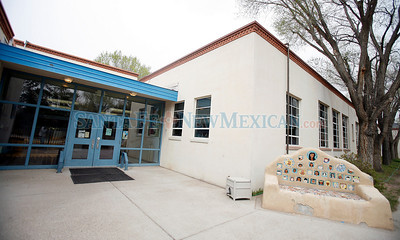 ACEQUIA MADRE ELEMENTARY SCHOOL Schools in Santa Fe that may be part of the consolidation plan that the school board votes on in Santa Fe, N.M., on April 22, 2010. Natalie Guillen/The New Mexican