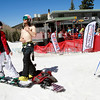 From left, Billy Allen watches his friends, Bonnie Mendez and Damen Mayo take in a few rays of sun at the second to last day of the ski season at Santa Fe Ski on Saturday, March 31, 2012.<br /> <br /> Photos by Jane Phillips/The New Mexican