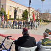 New Mexico National Guard hosted the ceremony honoring the 70th anniversary of the surrender of Bataan in the Pacific theater of World War II at the Bataan Memorial by the Bataan Building in Santa Fe, New Mexico Monday, April 9, 2012.<br /> Clyde Mueller/The New Mexican