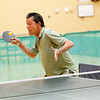 Senior Olympic Table Tennis Tournament at Fort Marcy Recreation Complex on Friday, April 12, 2013.  This is a City of Santa Fe-sponsored event.  Jane Phillips/The New Mexican