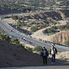 Pilgrims make their way to the Santuario de Chimayó on Juan Medina Road on Good Friday on April 18, 2014. Luis Sánchez Saturno/The New Mexican