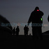 Pilgrims make their way to the Santuario de Chimayó on Juan Medina Road during sunrise on Good Friday on April 18, 2014. Luis Sánchez Saturno/The New Mexican