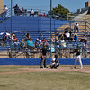 The first game of a District 2AAAA double header baseball game between  Santa Fe High and Los Alamos played at Santa Fe High's Clyde Faucett Field on Saturday, April 2, 2011.<br /> Clyde Mueller/The New Mexican