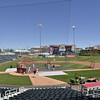 Isotopes Media Day, Tuesday, April 5, 2011 held at Isotopes baseball park. <br /> Clyde Mueller/The New Mexican