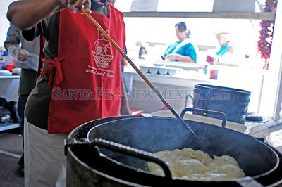 Indian Market on Aug. 22, 2010.  Katharine Egli/The New Mexican