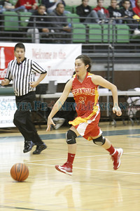the third quarter of the Socorro vs Española girls basketball game during the Ben Lujan Tournament at Pojoaque High School on Thursday, December 20, 2012. Photo by Luis Sánchez Saturno/The New Mexican