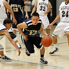 Al Armendariz Classic/Lady Jaguar Invite first round at<br /> Edward A. Ortiz Memorial Gymnasium, Capital High School on Thursday, December 2, 2010.<br /> Boys<br /> 4:30 p.m. - Santa Fe High vs. Deming<br /> Capital vs. Grants.<br /> Photos by Jane Phillips/The New Mexican