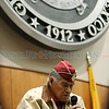 Tony Reyna, the oldest living survivor of the Bataan Death March, is honored on the house floor at the State Capitol on Feb. 14, 2012. Born in 1915, Reyna is a former governor of Taos Pueblo. Reyna also gave the opening prayer at the house before being honored.<br /> <br /> Photo by Luis Sanchez Saturno/The New Mexican