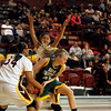 The first quarter of the Santa Fe Indian School vs Hope Christian girls basketball game at Santa Fe Indian School on Feb. 15, 2011.          Photos by Luis Sanchez Saturno/The New Mexican