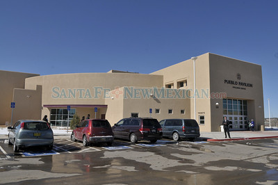 Grand opening of Santa Fe Indian School's new Pueblo Pavilion Wellness Center, basketball gym, which is has been in construction since 2007 Clyde Mueller/The New Mexican
