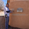 United State Postal Service postman Vince Aragon delivers mail to homes and business along the Old Santa Fe Trail in Santa Fe, New Mexico on Wednesday morning, February 6, 2013. Aragon has worked for the USPS for 9 years and said that in his opinion the Postmaster General does not have the legal authority to unilaterally make a decision to cancel Saturday delivery and that only Congress can make legal changes. Clyde Mueller/The New Mexican