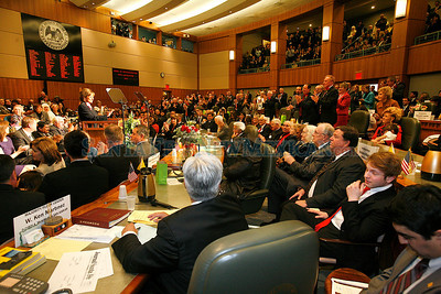 Opening day of the Legislative session on Tuesday, January 18, 2011 in Santa Fe, New Mexico. Photos by Jane Phillips/The New Mexican