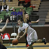 Grants' Ritchie Lucero, number 25, covers Pojoaque's Anthony Rodriguez, number 11, as he looks for the open man during the first quarter of the Grants vs Pojoaque boys basketball game at Pojoaque High School on Jan. 16, 2013. Photo by Luis Sanchez Saturno/The New Mexican