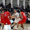 The first quarter of the Bernalillo vs Capital basketball game at Capital High School on Jan. 24, 2012.<br /> <br /> Photo by Luis Sanchez Saturno/ The New Mexican