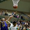 The first half of the Pecos High School vs Peñasco High School semi final basketball game during the Northern Rio Grande Tournament on Jan7. 2011, at Pojoaque High School.          Photos by Luis Sanchez Saturno/The New Mexican