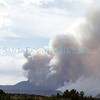 Smoke is seen on the drive towards Cochiti Pueblo on Thursday, June 30, 2011.  The Dixon Apple Orchard was badly burned on Monday due to the on-going Las Conchas fire.<br /> Photos by Jane Phillips/The New Mexican