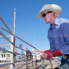 Dylan Vick Hice,21, from California gets ready for his bull riding event during opening day of the Rodeo de Santa Fe on Wednesday, June 19, 2013.  Jane Phillips/The New Mexican