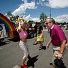 The annual Pride Parade started at the Capitol and ended at the railyard for more festivities.
