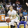 The first quarter of the quarter final state championship game between Pecos High School and Messilla Valley at the Santa Ana Star Center on Wednesday, March 13, 2013. Photo by Luis Sanchez Saturno/The New Mexican