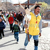 Annual Good Friday pilgrimage to the Santuario on Friday, March 29, 2013.  Jane Phillips/The New Mexican
