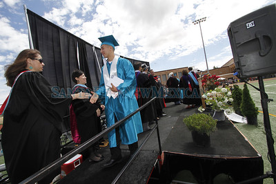 Capital High School graduation on Friday, May 23, 2014. Luis Sanchez Saturno/The New Mexican