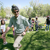 Alvord, Kaune and Larragoite elementary schools had a field trip at Patrick Smith Park to bond on Thursday, May 27, 2010.  Over 500 students were broken up into their age groups and had different activities to get to know one another.<br /> Photos by jane Phillips/The New Mexican