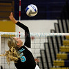 The first game of the Santa Fe High School vs Capital High School volleyball match at Santa Fe High School on Oct, 31, 2011.<br /> <br /> Photo by Luis Sánchez Saturno/The New Mexican