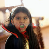 Jada Gallegos, 6, from Santa Fe, makes her scary face with her vampire costume at the Halloween Fall Festival at the Santa Fe Community College on Oct, 31, 2011.<br /> <br /> Photo by Luis Sánchez Saturno/The New Mexican