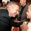 Former Gov. Gary Johnson signs a t-shirt for 11-year-old<br /> Christopher Pazell of Albuquerque, N.M. at the Hotel Albuquerque on Tuesday, Nov. 6, 2012.   Photo by Kate Nash/The New Mexican