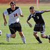 The soccer match between Capital High School vs Monte Del Sol on Aug. 31, 2010. Capital won 4-1.             Luis Sanchez Saturno/ The New Mexican.