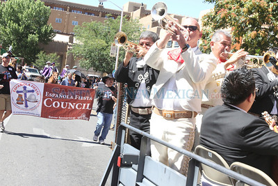 Historical/Hysterical parade during Fiestas on Sunday, Sept. 12, 2010 in Santa Fe, N.M..  Natalie Guillén/The New Mexican