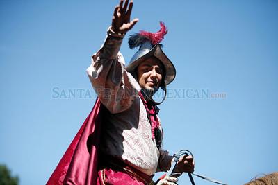Fiestas on Sunday, Sept. 12, 2010 in Santa Fe, N.M..  Natalie Guillén/The New Mexican