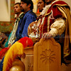 The morning Mass during Fiestas on Sunday, Sept. 12, 2010 in Santa Fe, N.M..<br /> <br /> Natalie Guillén/The New Mexican