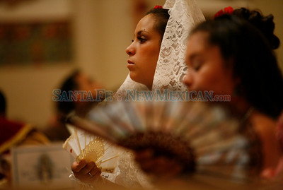The morning Mass during Fiestas on Sunday, Sept. 12, 2010 in Santa Fe, N.M..  Natalie Guillén/The New Mexican