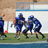 the second quarter of the St. Michael's High School vs Bloomfield at St. Mike's on Saturday, September 1, 2012. Photo by Luis Sánchez Saturno/The New Mexican